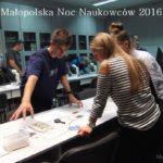 Relacja z Małopolskiej Nocy Naukowców 2016