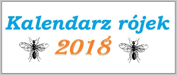 Kalendarz rójek 2018