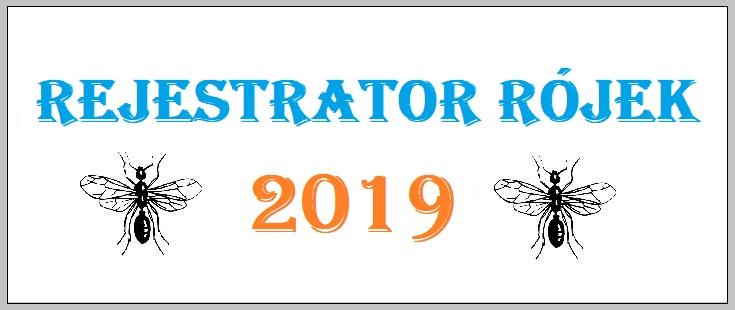 Rejestrator rójek 2019