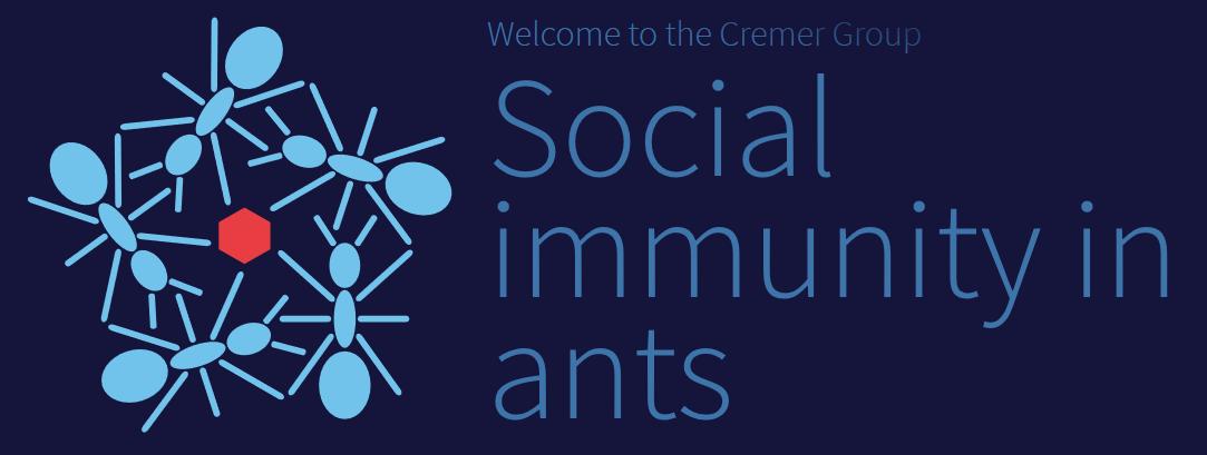 Social immunity in ants