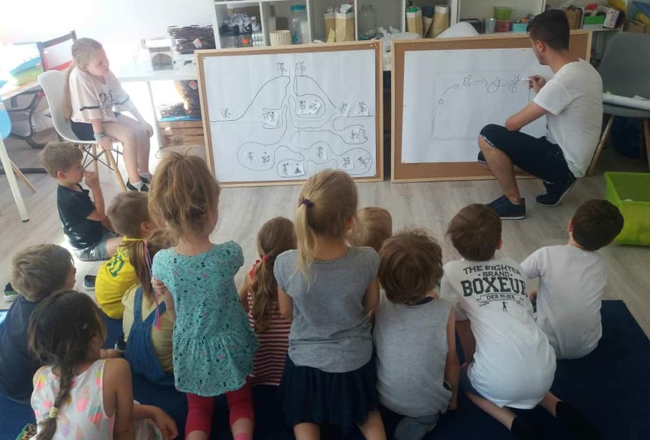 Warsztaty myrmekologiczne dla dzieci