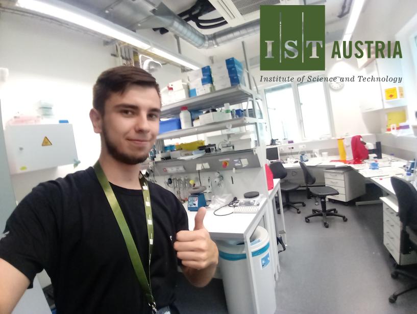 Wyjazd zagraniczny do Institute of Science and Technology Austria